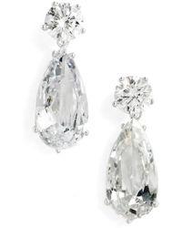 Nina - Double Drop Earrings - Lyst