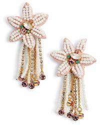 Rebecca Minkoff - Calla Statement Earrings - Lyst