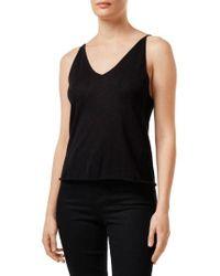 J Brand - Lucy Silk & Cashmere Sweater Knit Camisole - Lyst