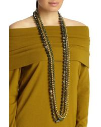 Lafayette 148 New York - Ombre Beaded Necklace - Lyst