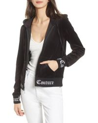 Juicy Couture - Robertson Jacquard Velour Hoodie - Lyst