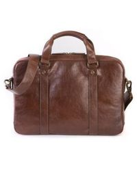 Boconi - 'becker' Leather Briefcase - Lyst