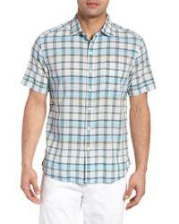 Tommy Bahama - Pico Plaid Sport Shirt - Lyst