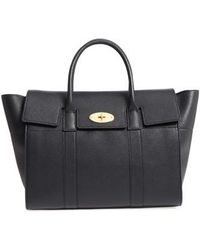 Mulberry - Bayswater Calfskin Leather Satchel - - Lyst