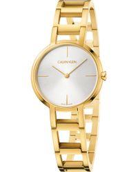Calvin Klein - Cheers Bracelet Watch - Lyst