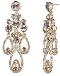 Givenchy | Drama Chandelier Crystal Earrings | Lyst