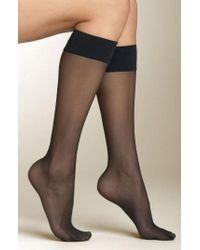 Spanx - Spanx Sheer Knee Highs - Lyst