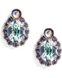 Sorrelli - Pansy Crystal Earrings - Lyst