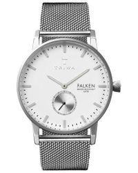 Triwa - Ivory Falken Mesh Strap Watch - Lyst