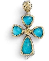 Konstantino - 'iliada' Cross Pendant - Lyst