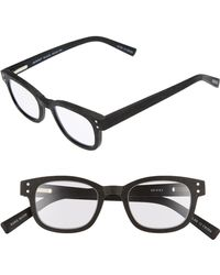 lyst eyebobs spank me 45mm reading glasses in black for men Oakley Polarized Jupiter eyebobs butch 45mm reading glasses lyst
