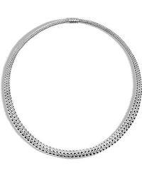 John Hardy - Classic Chain Collar Necklace - Lyst