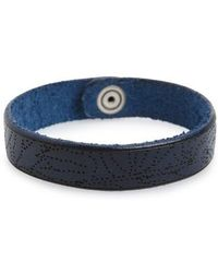 Orciani - Stain Leather Bracelet - Lyst