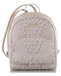 Brahmin - Mini Dartmouth Leather Backpack - Lyst