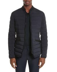 Armani | Quilted Down Jacket | Lyst