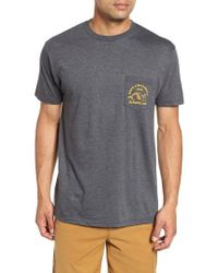 Rip Curl - Merman Heathered Pocket T-shirt - Lyst