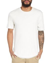 Vince - Double Layer Slim Fit T-shirt - Lyst