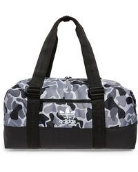 9b64b1ea44cd Lyst - Adidas Originals Team Speed Small Duffel Bag in Black for Men