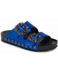 Jessica Simpson - Gemelia Embellished Slide Sandal - Lyst