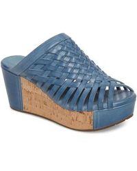 Chocolat Blu - Walda Platform Wedge Sandal - Lyst