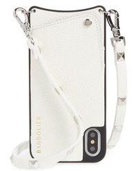 Bandolier - Sarah Leather Iphone X & Xs Crossbody Case - Lyst