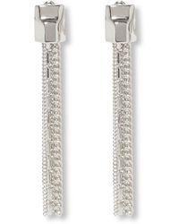 Vince Camuto - Tassel Linear Clip Earrings - Lyst