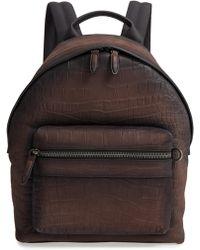 Ferragamo - Firenze Leather Backpack - - Lyst
