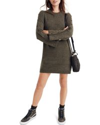 Madewell - Donegal Button-sleeve Sweater Dress - Lyst