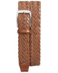 Torino Leather Company - Braided Belt - Lyst