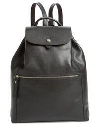Longchamp - Veau Leather Backpack - - Lyst