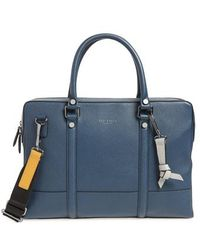 Ted Baker - Awol Leather Document Bag - - Lyst