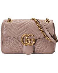 Gucci - Medium Gg Marmont 2.0 Matelassé Leather Shoulder Bag - - Lyst