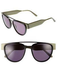 Smoke X Mirrors | Soda Pop 2 52mm Round Sunglasses | Lyst