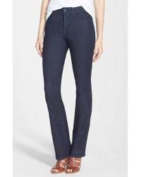 NYDJ - 'billie' Stretch Mini Bootcut Jeans - Lyst