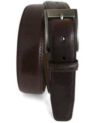 Boconi - Collins Leather Belt - Lyst