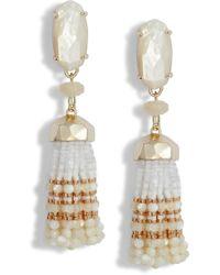 Kendra Scott - Dove Tassel Earrings - Lyst