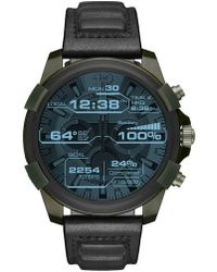 DIESEL - Diesel Full Guard Touchscreen Leather Strap Smartwatch - Lyst