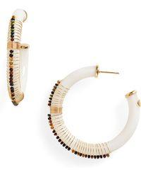 Gas Bijoux - Caliste Hoop Earrings - Lyst