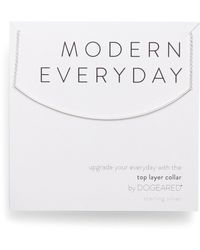 Dogeared - Modern Everyday Top Layer Necklace - Lyst