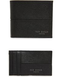 687c0c5a89f Ted Baker Leather Wallet And Card Holder Gift Set in Brown for Men ...