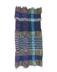 Y's Yohji Yamamoto - Multicolor Plaid Scarf - Lyst