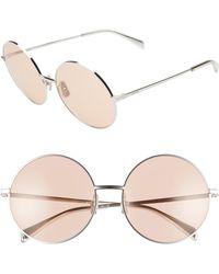 f83afd13e931 Gucci 59mm Aviator Sunglasses - Palladium/ Grey Mirror in Metallic ...