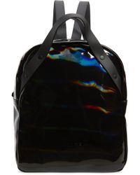 Rains - Go Holographic Waterproof Backpack - Lyst