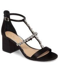 Badgley Mischka - Alamea Block Heel Sandal - Lyst