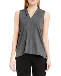 Vince Camuto - Sleeveless V-neck Top - Lyst