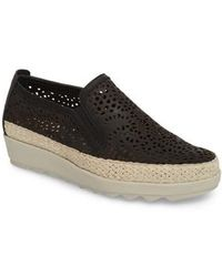 The Flexx - Call Me Perforated Slip-on Sneaker - Lyst