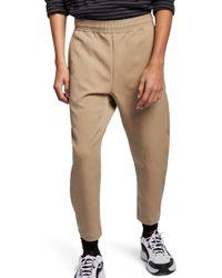 da077eddeac0e Lyst - Nike Sportswear Bonded Woven Trousers in Blue for Men