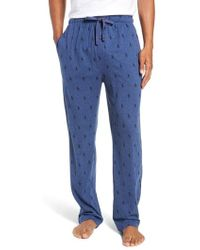 Polo Ralph Lauren - All Over Pony Lounge Pants - Lyst