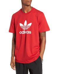 43338b4a7 Lyst - adidas Originals Id96 T-shirt in Green for Men