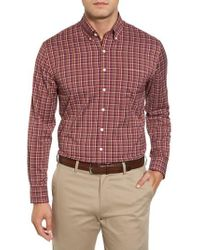 Bobby Jones | Dorian Plaid Easy Care Sport Shirt | Lyst